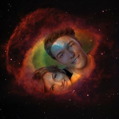 Øyet av universet Helix Nebula