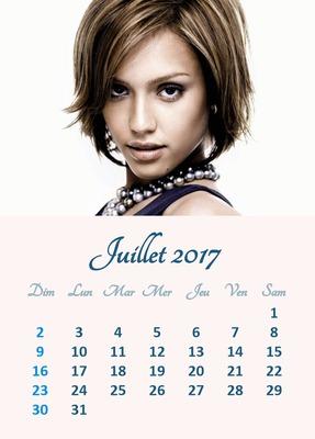 Ημερολόγιο Ιούλιος 2017