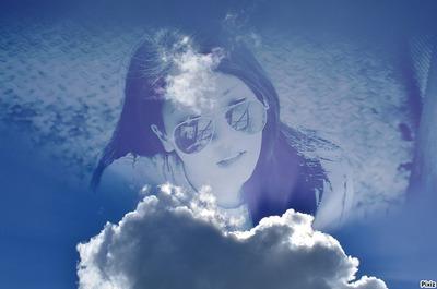 В облаците