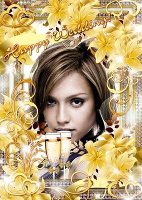 Boda Copas de champán