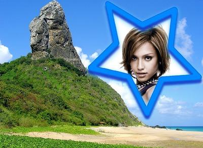 Пейзаж на рок звездата