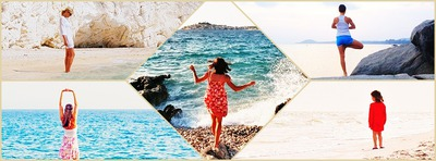 Collage 5 billeder Facebook Cover