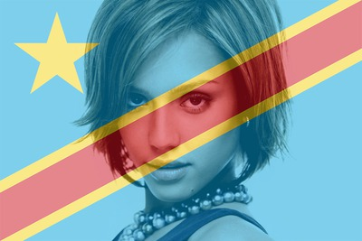 Lippu Kongon demokraattinen tasavalta