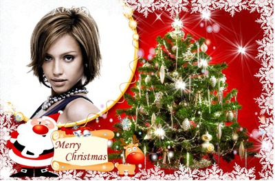 Albero di Natale Merry Christmas