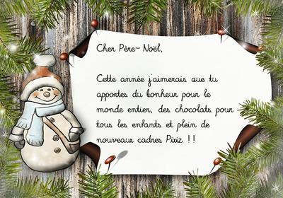 Lista al Papá Noel