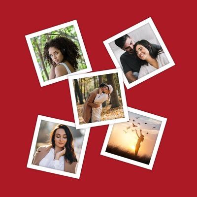 Collage Polaroid