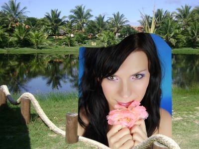 Krajobrazowe palmy rzeczne