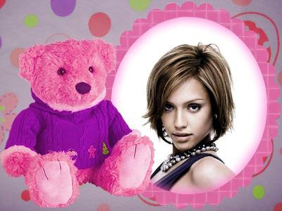 Różowy teddy