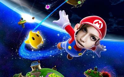Super Mario Galaxy Visage