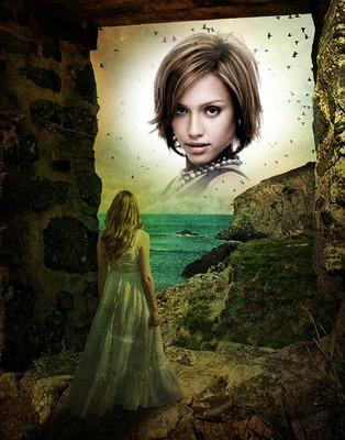 Fairyland Fantasy Girl Sea