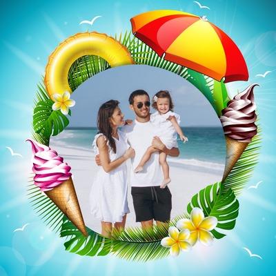 熱帯の休暇