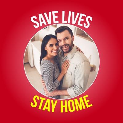Спасай жизни, оставайся дома