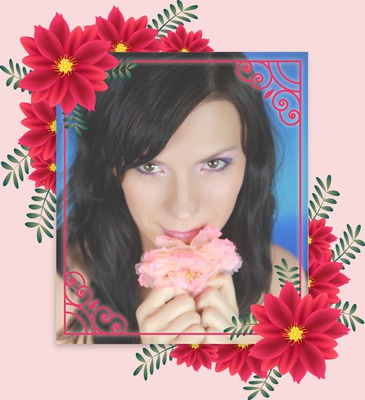 Kvetinová fotka