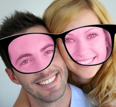Glasses to see life through rose-tinted spectacles