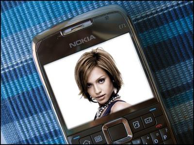 ฉากโทรศัพท์มือถือ Nokia โทรศัพท์