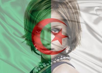 bandera de Argelia Argelia personalizable