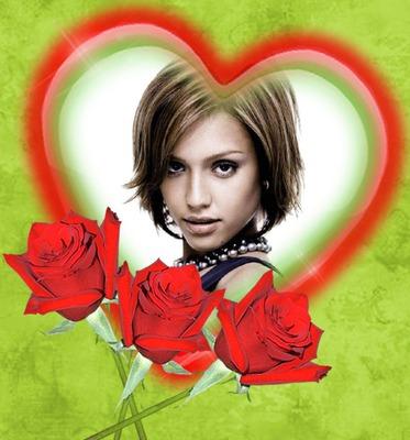 Heart ♥ pulang rosas