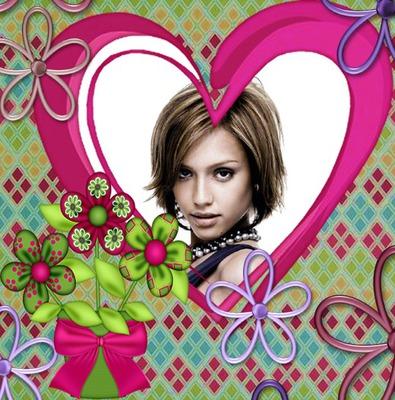 Herz ♥ Blumen