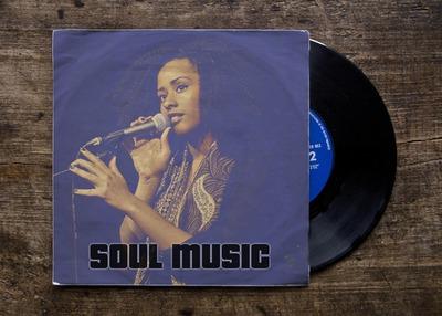 Vinylová obálka LP platňa s 45 ot./min