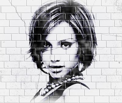 Štítek na zeď