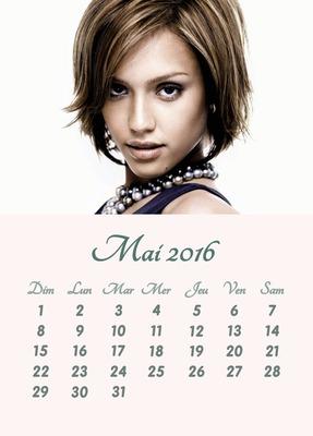 Calendario 2016 foto personalizable