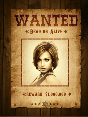 Wanted Western Wanted Notice