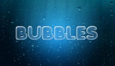 Texto en burbuja