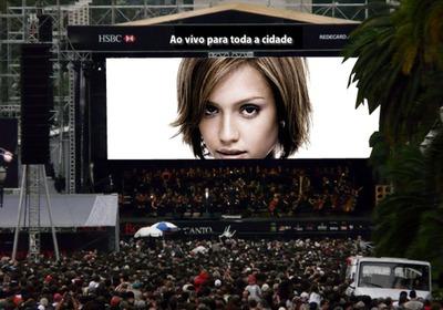 Scena Koncert Golemi zaslon