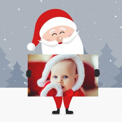 Санта и знак