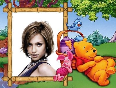 Cornice bambino Winnie the Pooh