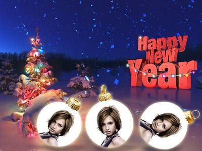 Bonne année Nouvel an