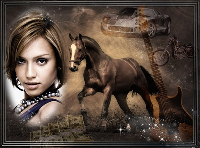 Paard Car ticket Gitaar