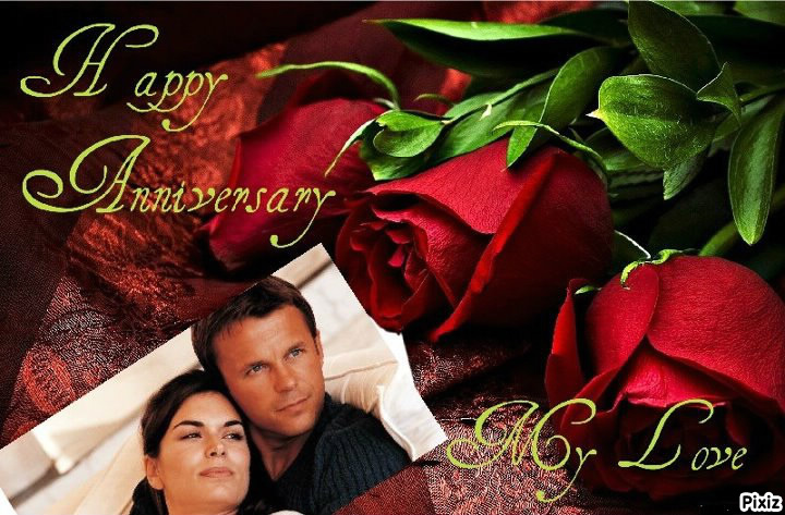 Photo montage Happy Anniversary * My-Love* - Pixiz
