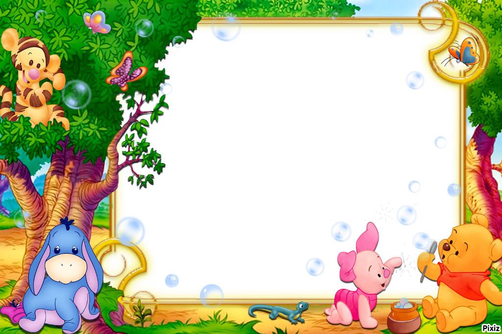 Lujoso Winnie The Pooh Fotos En Marcos Friso - Ideas Personalizadas ...