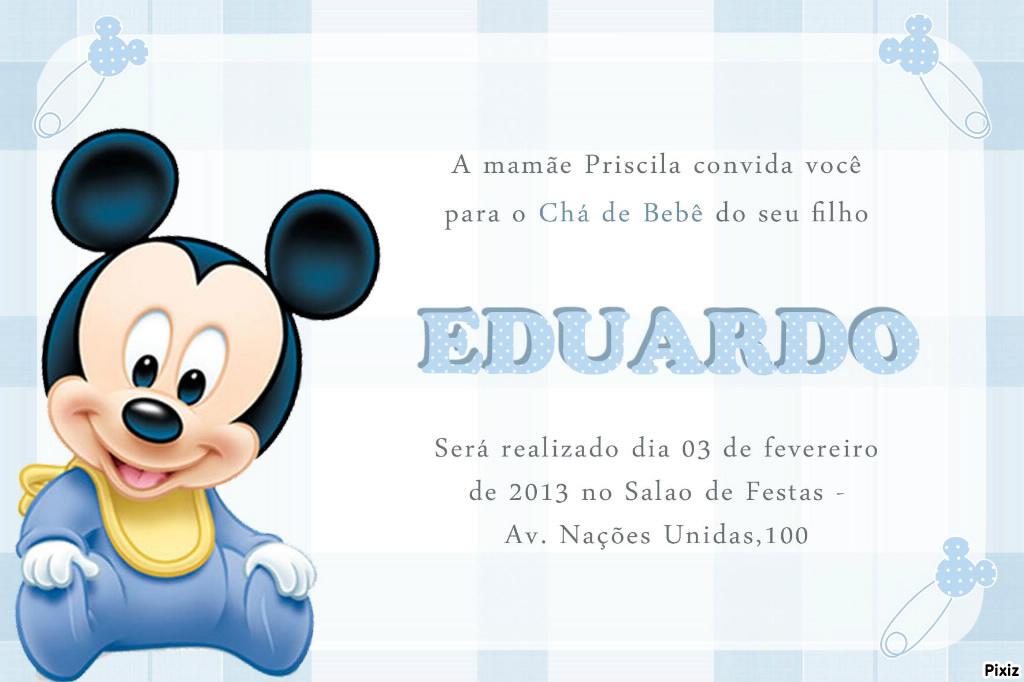 Fotomontage Mickey baby - Pixiz
