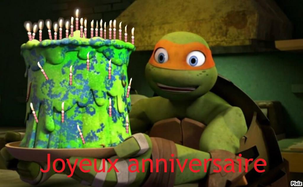 anniversaire tortue ninja