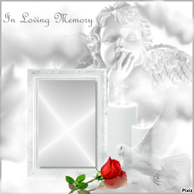 Photo montage In Loving Memory - Pixiz