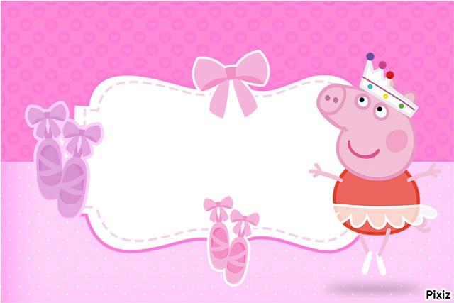 Incr Vel Convites Prontos Para Editar Convite Peppa Pig Gr Tis E Imprimir  Kid S