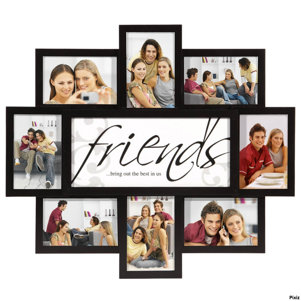 Photo montage Friends Forever - Pixiz