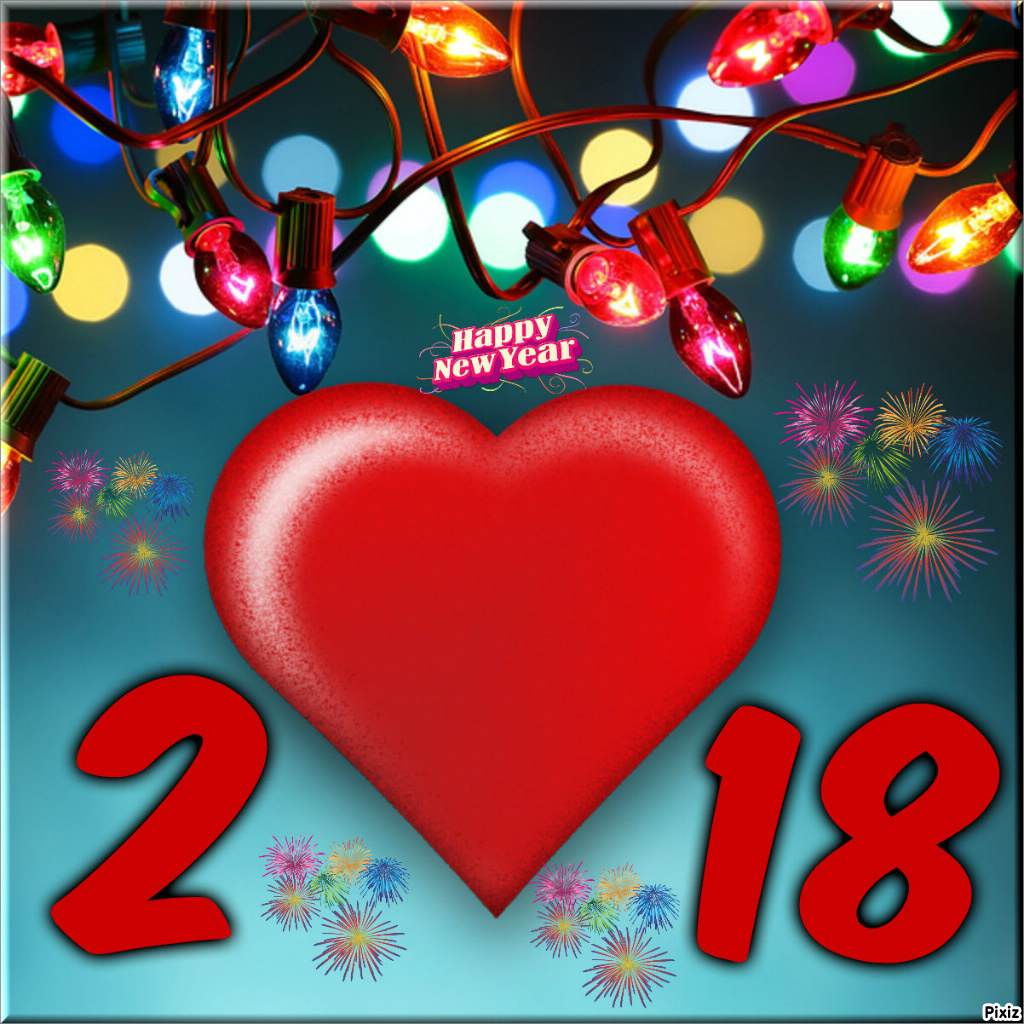 Fotomontage Dl CS 2018 New Year S - Pixiz