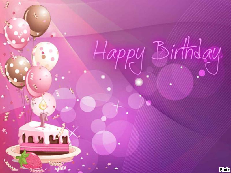 Fotomontage Happy Birthday cake - Pixiz