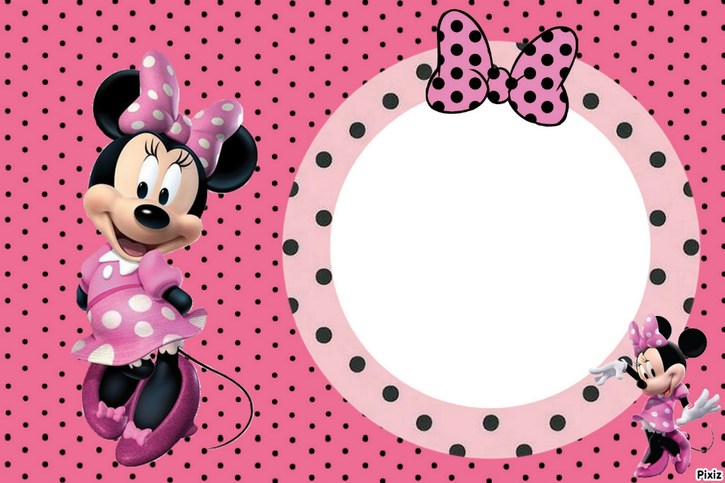 Photo montage minnie - Pixiz
