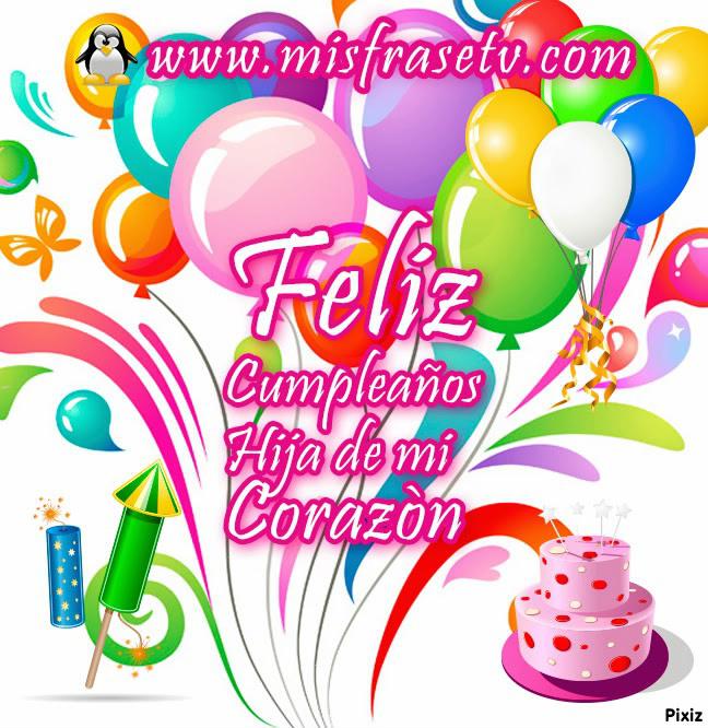 Montaje fotografico feliz cumpleaños hija - Pixiz