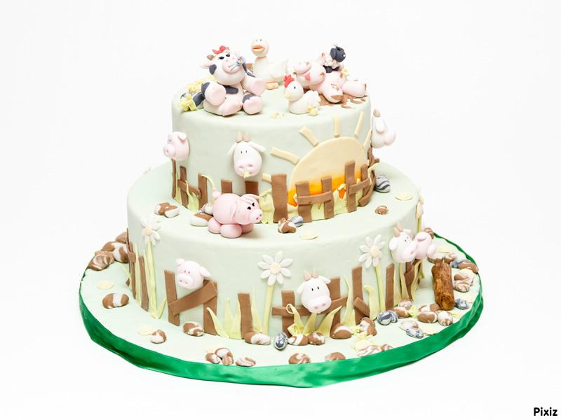 Fotomontage Torta per compleanno di Daniele - Pixiz