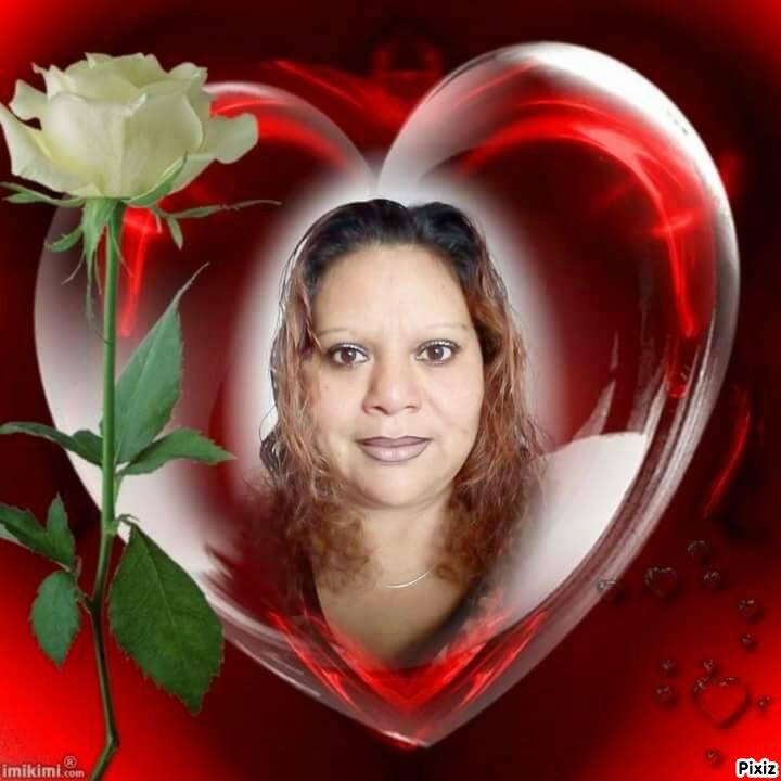 Fotomontage corazon rojo - Pixiz