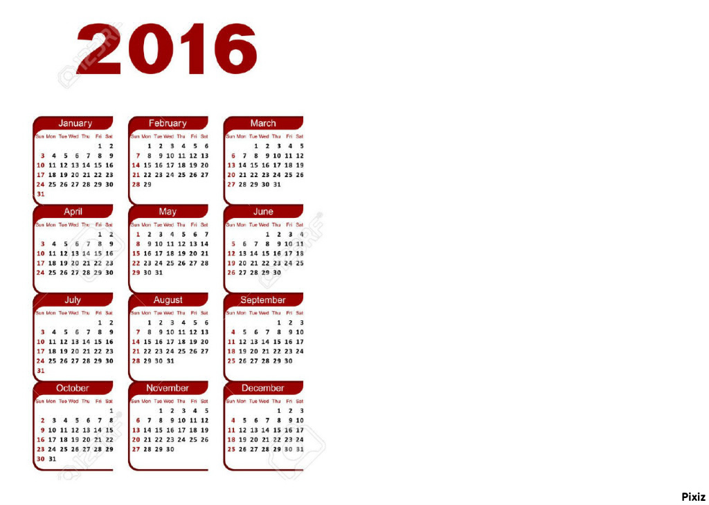 2112 naptár Photo montage 2016 NAPTÁR 01   Pixiz 2112 naptár
