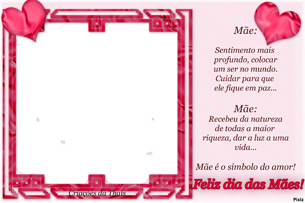 Fotomontage Moldura das mães - Pixiz