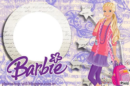 Montaje fotografico marcos de barbie - Pixiz