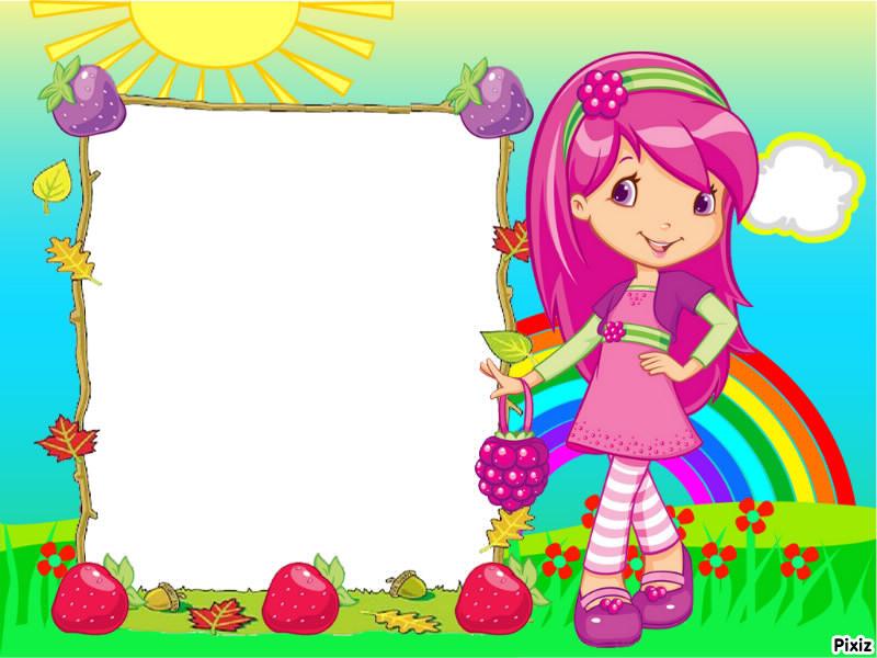 Montaje fotografico frutillita - Pixiz