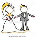 mariage dessin